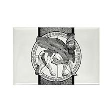 Assyrian Bull Rectangle Magnet