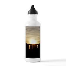 SUNSET AT STONEHENGE Water Bottle