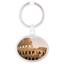 ROME COLOSSEUM Oval Keychain