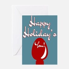 Happy Holidays from the World's Oka Greeting Cards