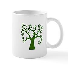 tree stylized nature graphic Mugs