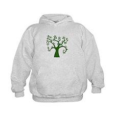 tree stylized nature graphic Hoodie
