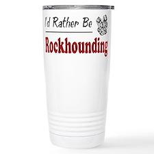 Unique Rockhound Travel Mug