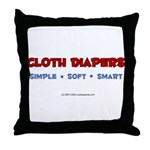 CD Simple Soft Smart! Throw Pillow