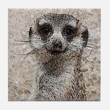 Abstract Animal Tile Coaster