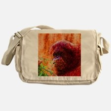 Abstract Animal Messenger Bag