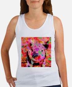 Sweet Piglet Graffiti Tank Top