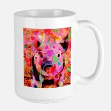 Sweet Piglet Graffiti Mugs