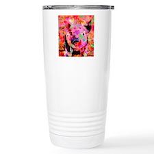 Sweet Piglet Graffiti Travel Coffee Mug