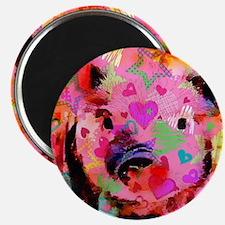 Sweet Piglet Graffiti Magnets