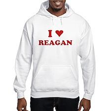 I LOVE REAGAN Hoodie