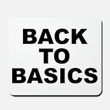 Back To Basics Mousepad