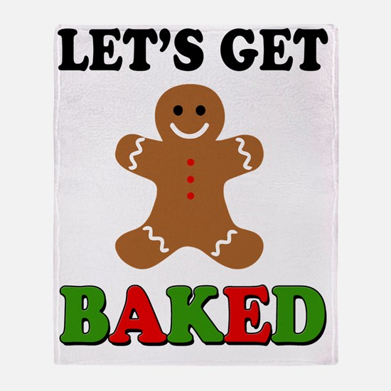 Cute Funny christmas Throw Blanket