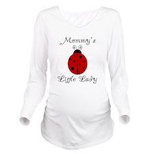 Unique Ladybug Long Sleeve Maternity T-Shirt