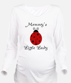 Cute Mommy of a child Long Sleeve Maternity T-Shirt