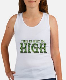 Cute Marijuana women Women's Tank Top