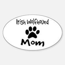 Irish Wolfhound Mom Decal