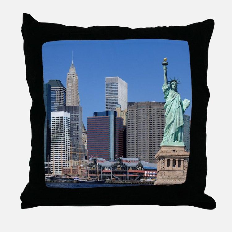 NY LIBERTY 2 Throw Pillow