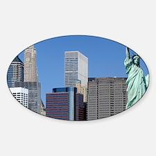 NY LIBERTY 2 Sticker (Oval)