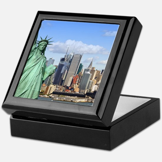 NY LIBERTY 1 Keepsake Box