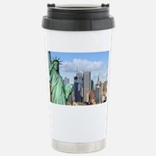 NY LIBERTY 1 Stainless Steel Travel Mug