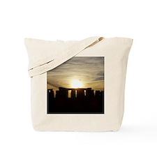 SUNSET AT STONEHENGE Tote Bag