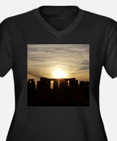 SUNSET AT STONEHENGE Plus Size T-Shirt