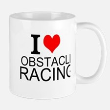 I Love Obstacle Racing Mugs