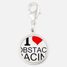 I Love Obstacle Racing Charms