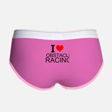 I Love Obstacle Racing Women's Boy Brief