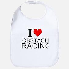 I Love Obstacle Racing Bib