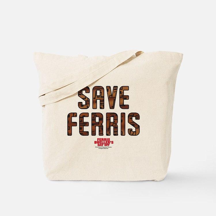 Ferris Bueller - Save Ferris Tote Bag