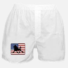 American Poodle Boxer Shorts