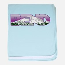 Bend baby blanket