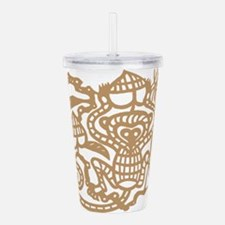 monkey112dark.png Acrylic Double-wall Tumbler