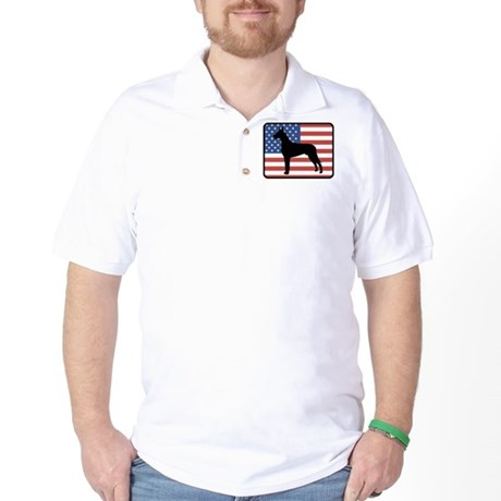 American Great Dane Golf Shirt