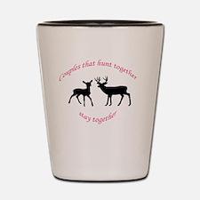 Cute Deer hunting Shot Glass