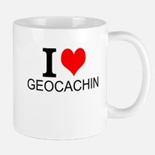 I Love Geocaching Mugs