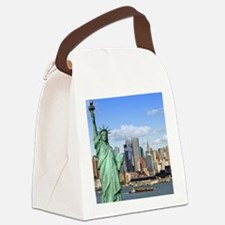 NY LIBERTY 1 Canvas Lunch Bag