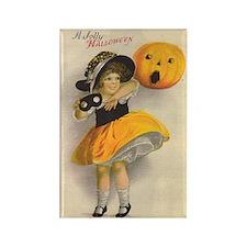 Jolly Halloween Rectangle Magnet