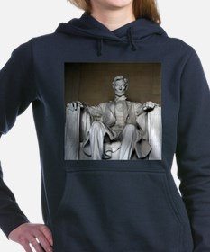 LINCOLN MEMORIAL Women's Hooded Sweatshirt