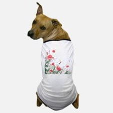 Flowers Painting Dog T-Shirt