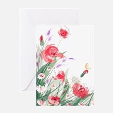 Flowers Painting Greeting Cards