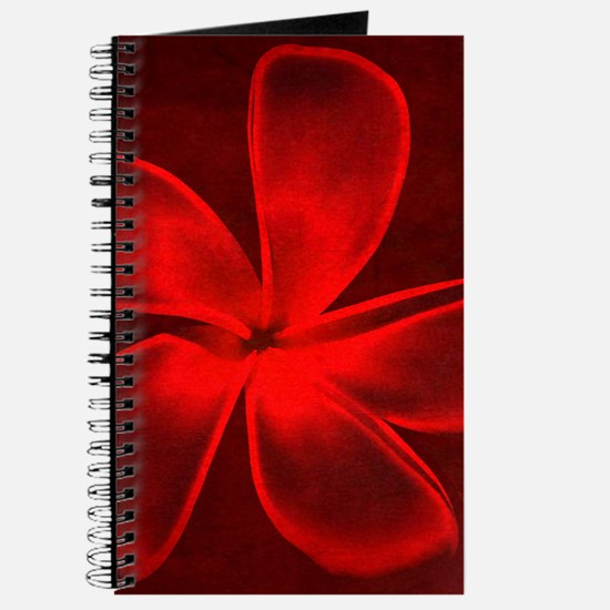 Flower Tropical Red Journal