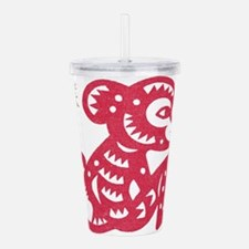monkey114light.png Acrylic Double-wall Tumbler