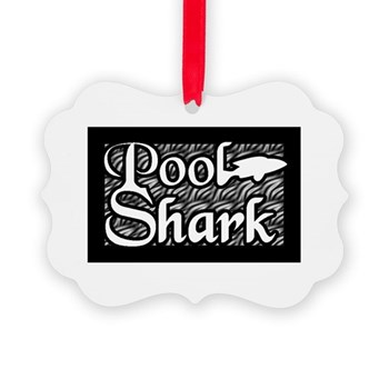 Pool Shark Ornament