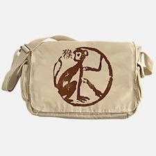 monkey115light.png Messenger Bag