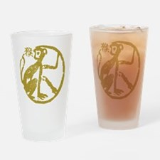 monkey115dark.png Drinking Glass
