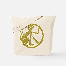 monkey115dark.png Tote Bag