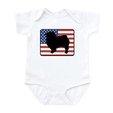 American Keeshond Infant Bodysuit